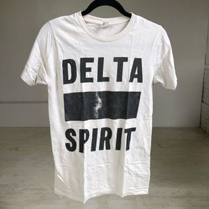 Delta Spirit band t shirt